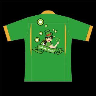 ボーリングシャツ、フルカラーでオーダーメイド製作しています。