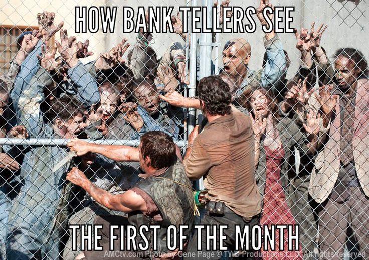 lol basically, Bank humor!