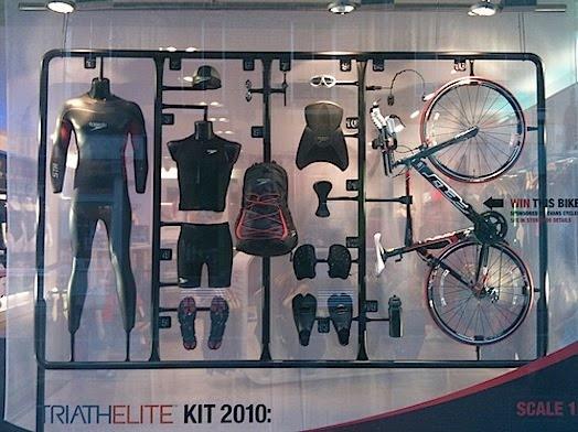 Window Display for 2010 Triathelite kit #RetailDesign #design