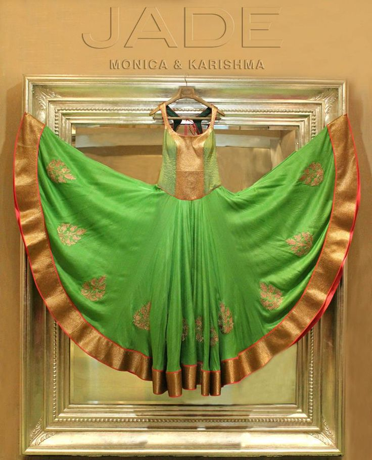 Paint the town green, and make the world envious ;)   #JADEbyMK #India #style #princess