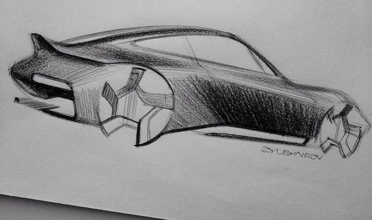 "232 Likes, 1 Comments - Dimka Zyubyairov (@kukubunji) on Instagram: ""another #911 #porsche #dna research #drawing #sketch #cardesign #automotive #design"""