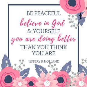 Elder Jeffery R Holland quote