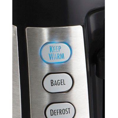 Hamilton Beach 4-Slice Keep Warm Toaster- 24810, Silver