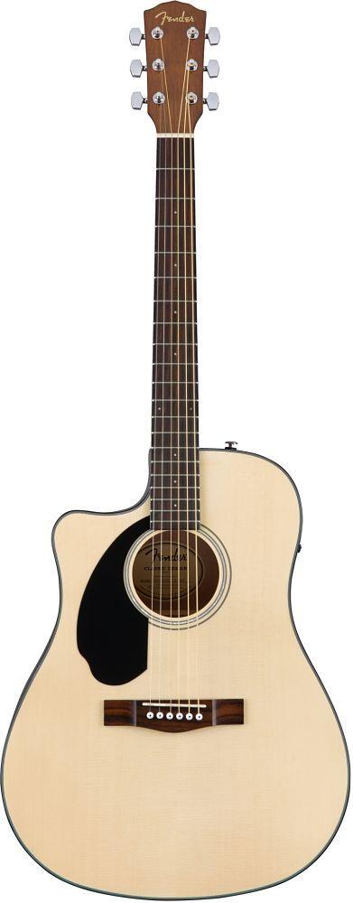 Guitarra Fender Zurda CD-60SCE Color Natural 0961704021    Combinando una potente electrónica incorporada, incluido un sintonizador incorporado, con un tono excelente y una facilidad de reproducció...