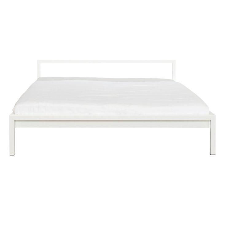 Pure Bett Von Hans Hansen, Das Schlichte Und Puristische Stahlbett Mit  Edler Optik, Sicher Und Günstig Im Wohndesign Shop Kaufen.