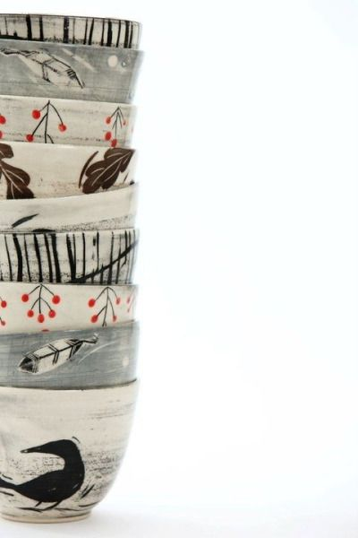 Gorgeous handmade pottery http://www.blackbirdpottery.ca/551534/shops-boutiques-studio/