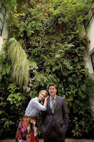 Laura Vinroot Poole brings the colossal work of French botanist Patrick Blanc to life in Charlotte, North Carolina (photo: Stacey Van Berkel-Haines)