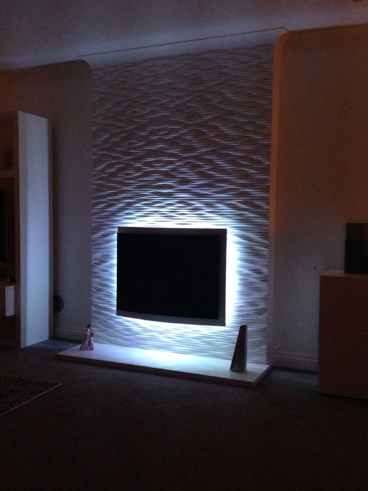Fireplace Textured Wall Project 3d Wall Panels Ideas