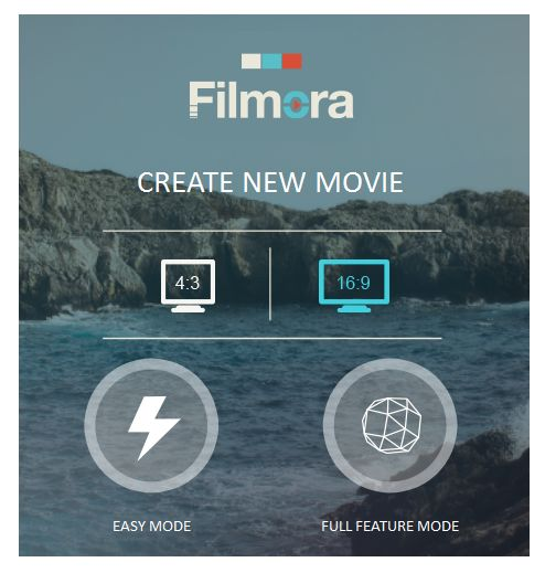 Easy Mode and Full Feature Mode   #filmora #reviews #videoediting #software