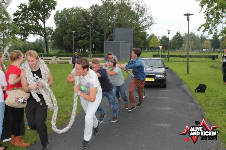The students strength association Wageningen Beasts might have used their Campus Game activity to scout some strong potential members.
