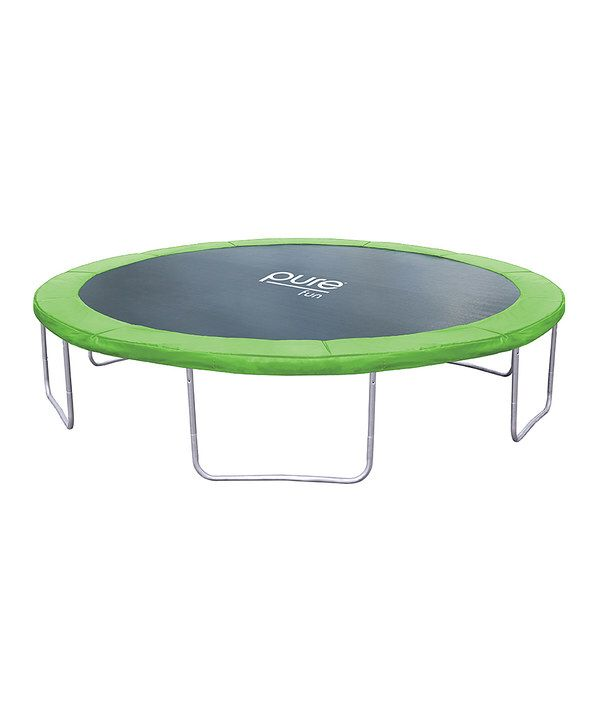 Look at this Pure Fun Dura-Bounce 14' Trampoline on #zulily today!