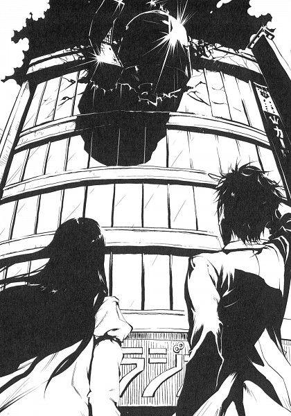 Steins;Gate, Makise Kurisu, Okabe Rintarou, Official Art