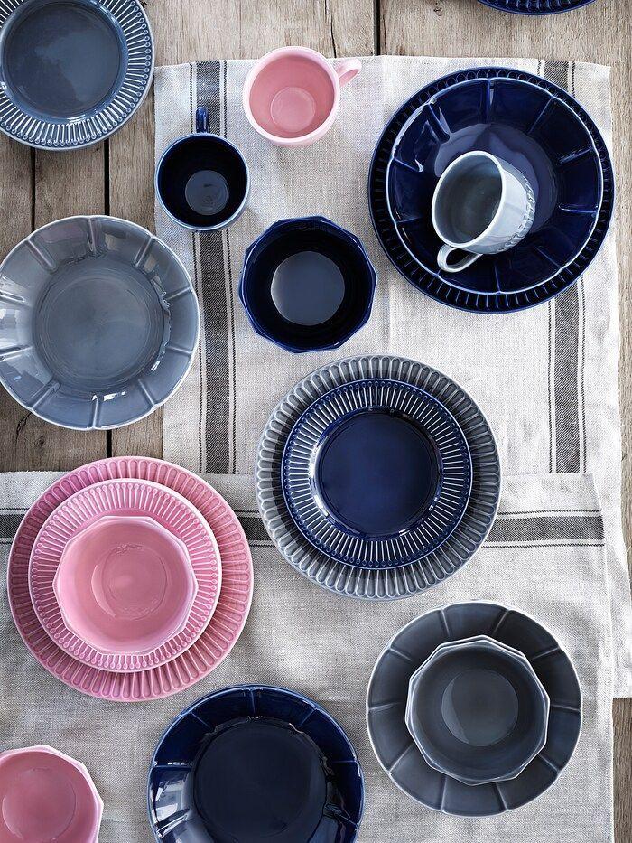 Strimmig Tallerken Keramik Pink Ikea In 2020 Primary Colors Ikea Winter Collection