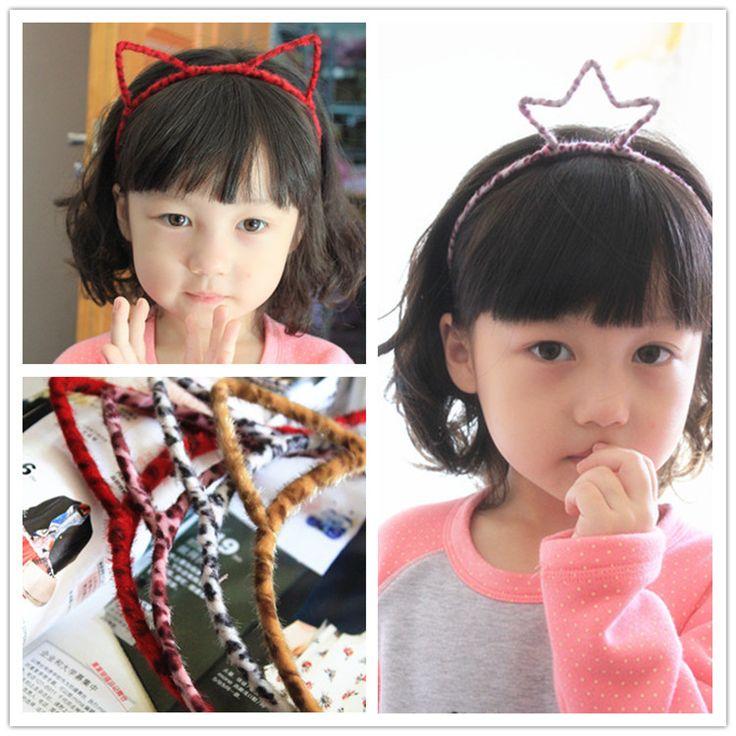 Зима Корейский Аксессуары для волос Ребенок Аксессуары Императорская корона Китти Принцесса Ленты для волос