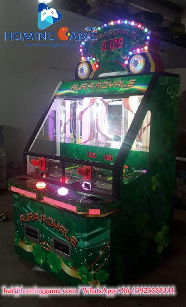 Aura 2 Win Jackpot Bonus Coin Pusher Game Machine | New