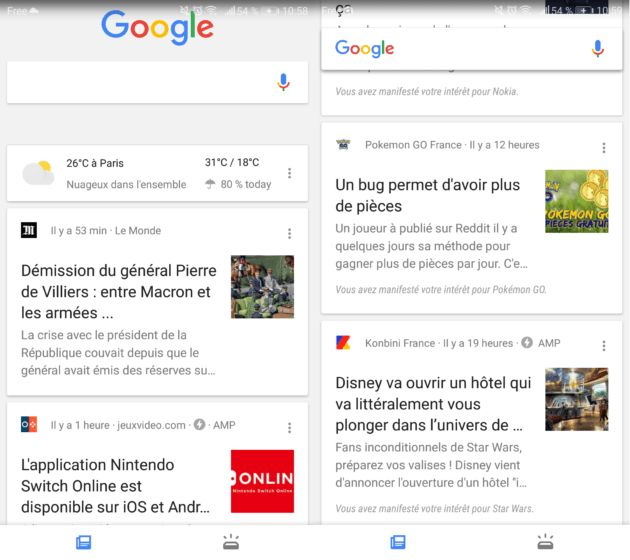 L'application Google propose un fil d'actu personnalisé - http://www.frandroid.com/android/applications/449457_google-propose-un-fil-dactu-personnalise-pour-son-application  #Android, #ApplicationsAndroid, #Google, #Marques