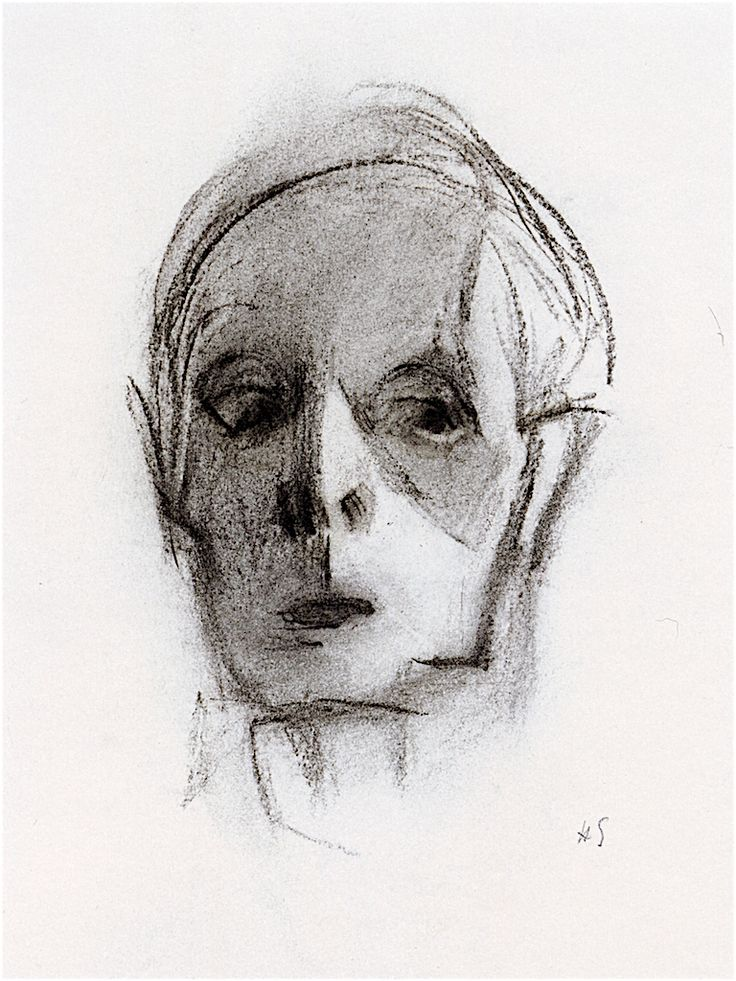 The Athenaeum - Self-Portrait, Saltsjöbaden (Helene Schjerfbeck - )
