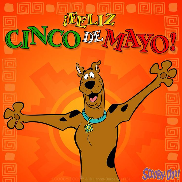 Image result for scooby on cinco de mayo