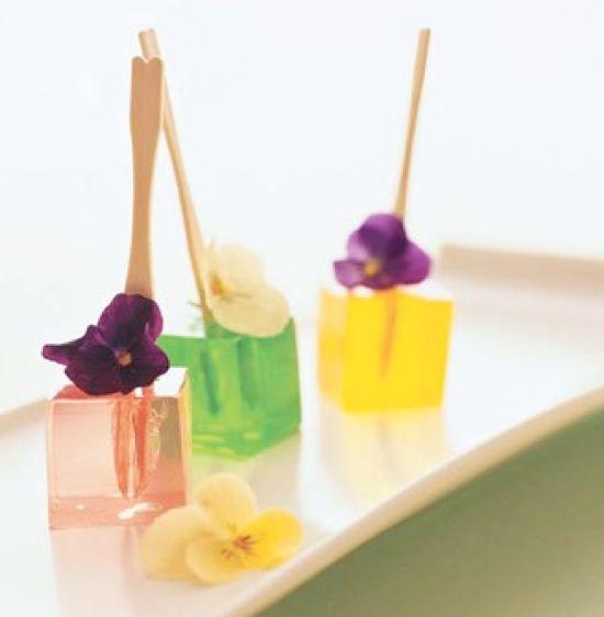 unique-dessert-buffet-trends.  jello shots at a wedding.  interesting trend