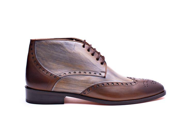 Melik Shoes Heren Boot Stelvio Cognac