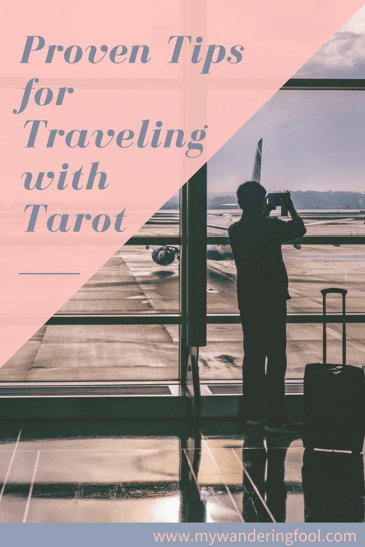 Proven Tips For Traveling With Tarot #tarot