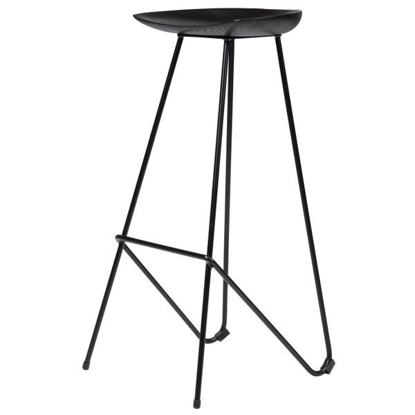 Tanjun Stool (235 CAD) ❤ liked on Polyvore featuring home, furniture, stools, wooden furniture, wood furniture, wood stools and wooden stool