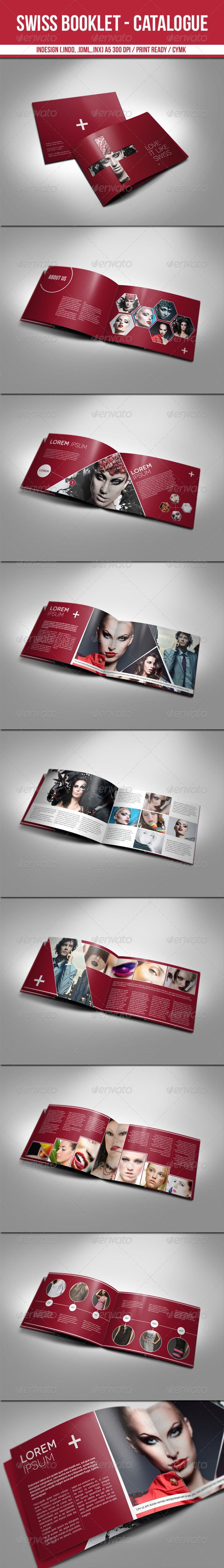 Swiss Booklet - Catalogue  - GraphicRiver Item for Sale