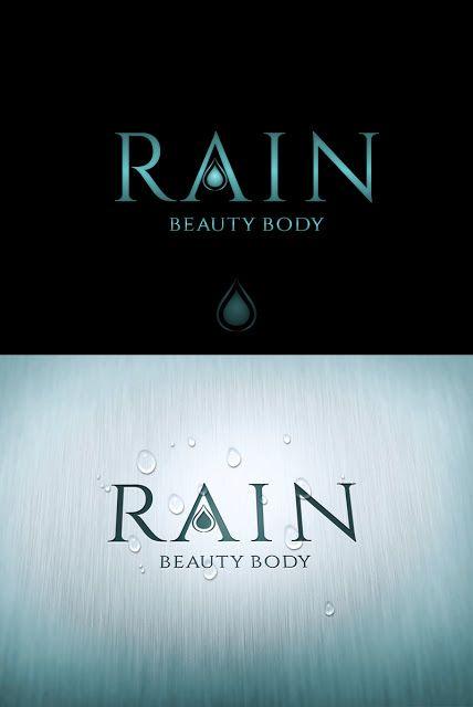 """Айлин Хакова Графичен Дизайн: Лого дизайн за спа салон """"Rain - Beauty Body"""" - 99..."""