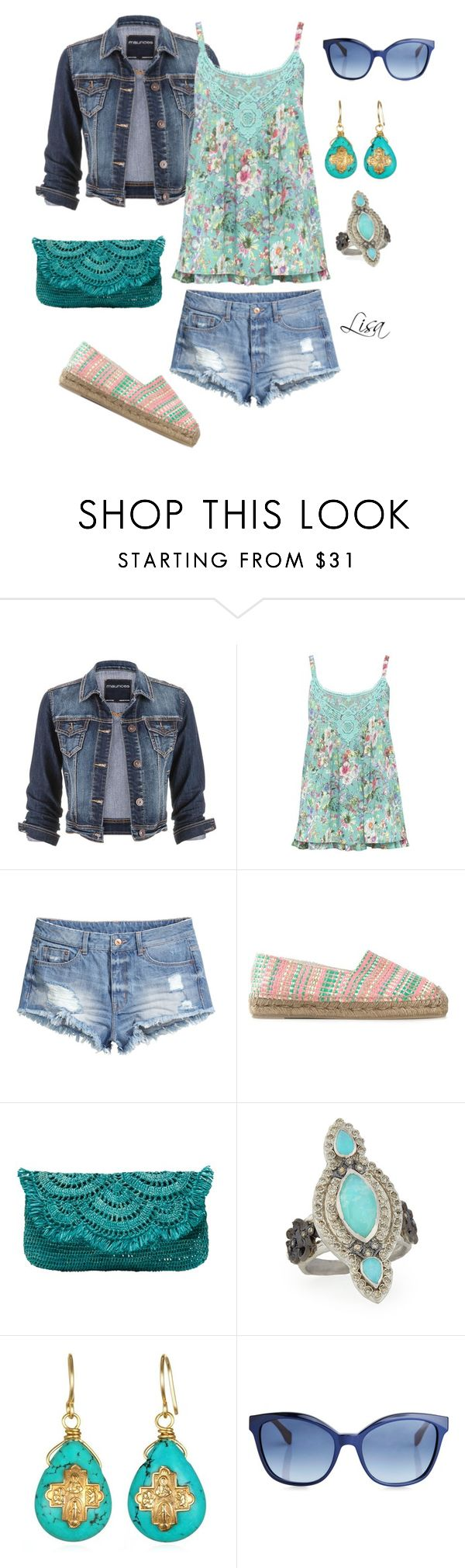 """Double Denim"" by coolmommy44 on Polyvore"