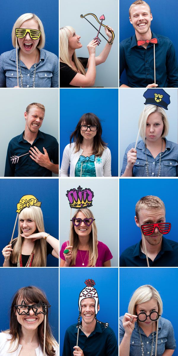 More free printable photo booth props
