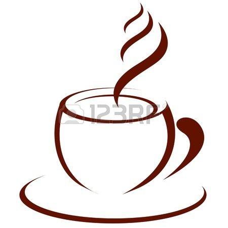 Tazza di caffè caldo Archivio Fotografico