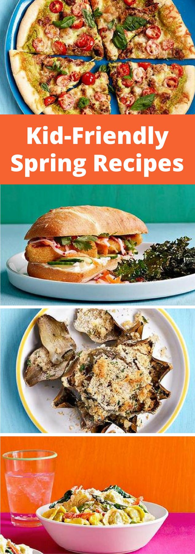 Say hello to spring with kid-friendly recipes that feature the season's finest picks.