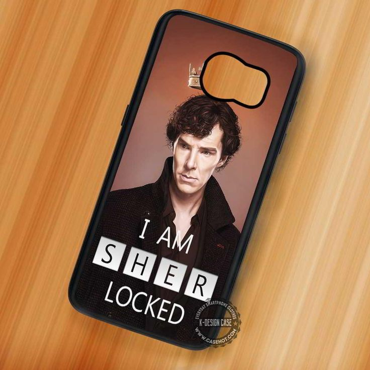 Locked Sherlock Holmes Quote Sherlocked - Samsung Galaxy S7 S6 S5 Note 7 Cases & Covers