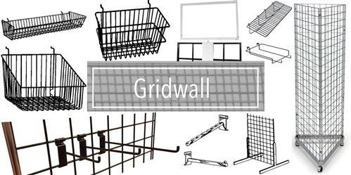 Gridwall Panels | Wire Grid Panel | Metal Grid | Retail Display | Display Grid