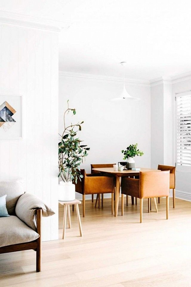 This Whitewashed Midcentury Home Is the Epitome of Calm   MyDomaine