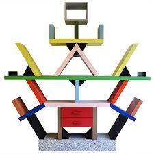 Ettore Sottsass-Carlton Bookshelf