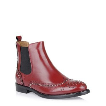 boots for women Madona Red Flat Women Boots fashion boots collection