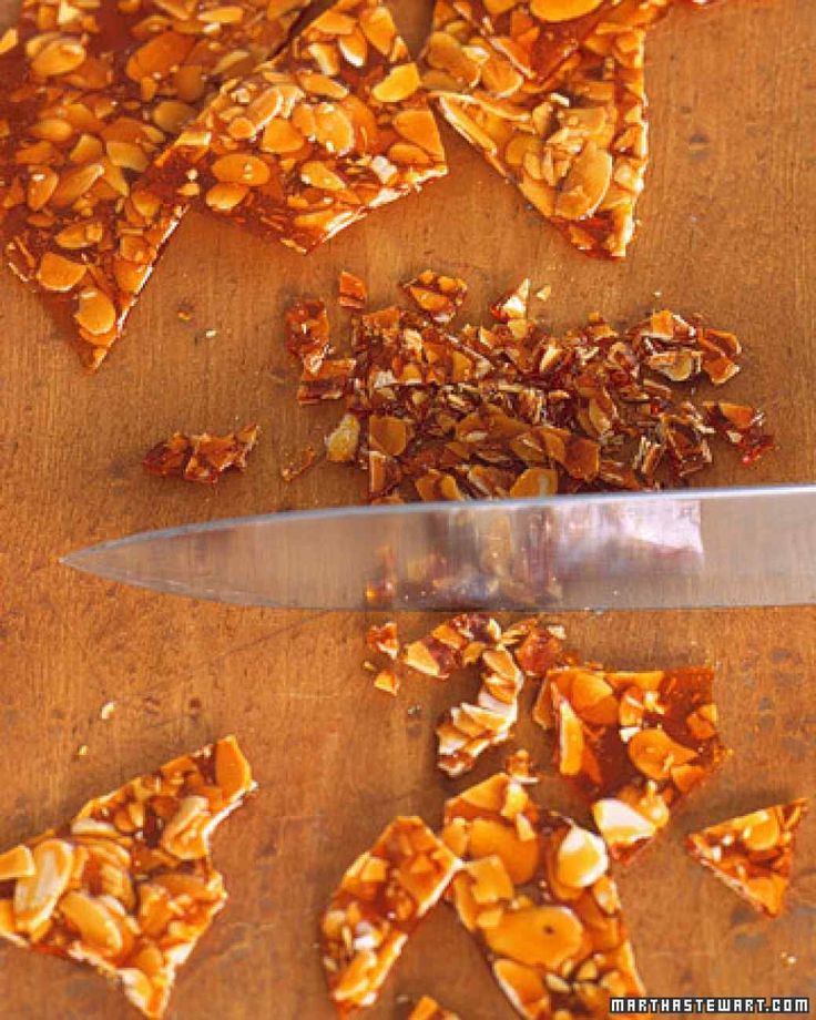 Almond Praline - Great ice cream topper or just a snack!