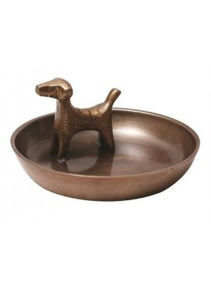 JEWELRY BOWL BRASS (6-PACK)#11DOG