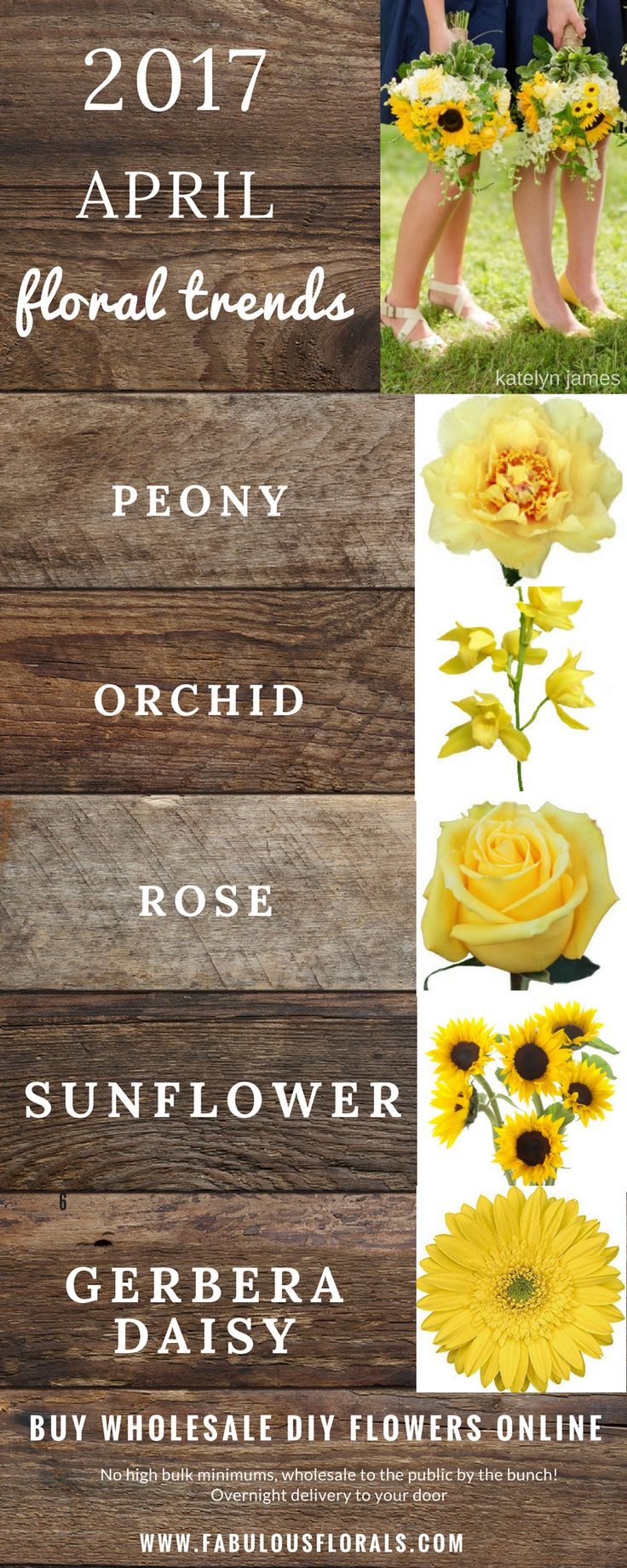 2017 APRIL Seasonal  wedding flower trends! www.fabulousflorals.com The DIY…