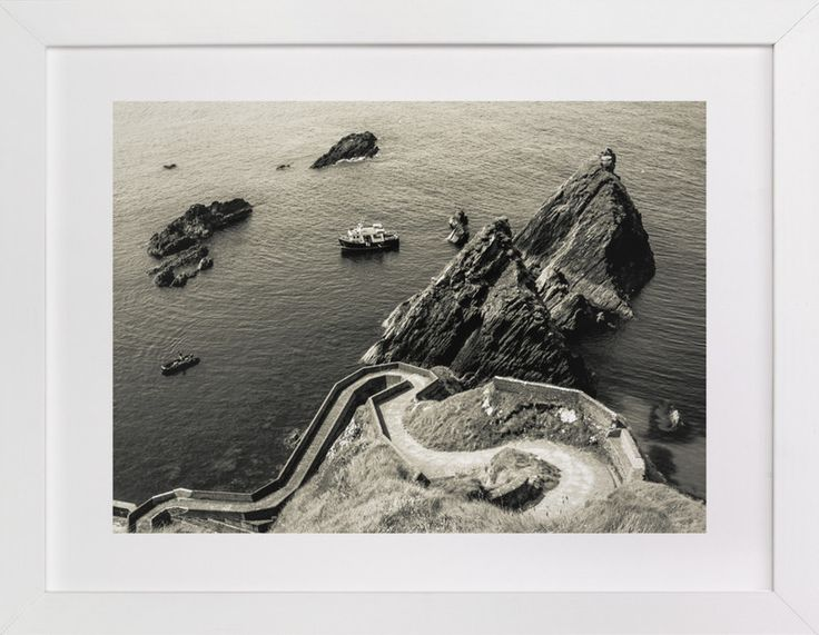 """Dunquin Pier"" by AR Photography in beautiful frame options and a variety of sizes."