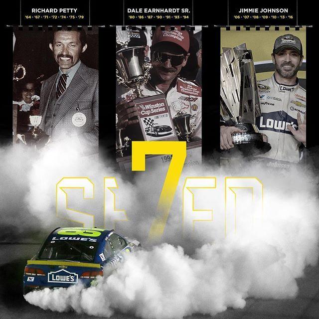 Icons. #se7en #NASCAR #TheChase