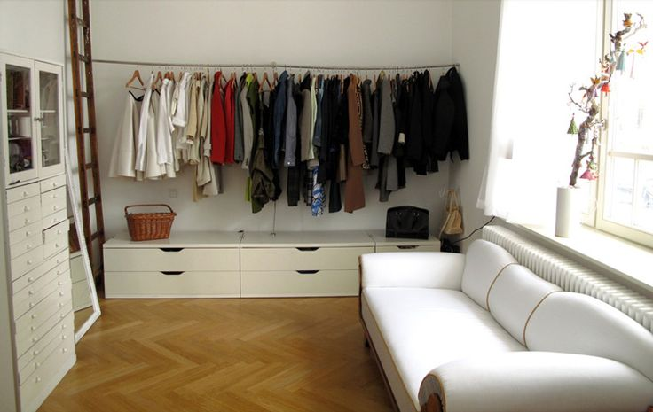 Delightful No Closet??? Make One.
