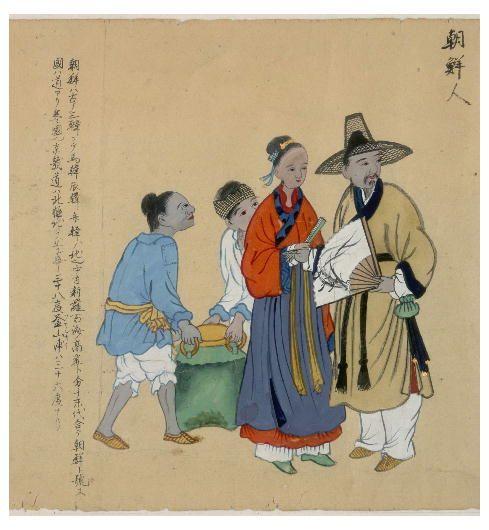 (early/mid) Joseon era painting - goryeo clothes임진왜란 전까지는 생각보다 조선시대에도 고려시대의 문화가 꽤 남아있었나봐 (조선시대 초기~중기의 그림들)