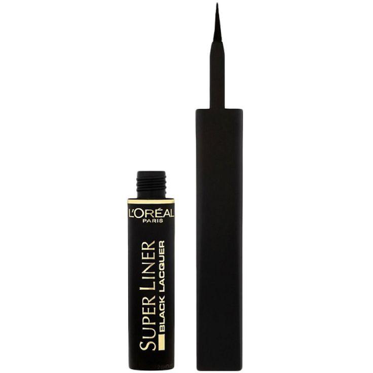 Tus de ochi Super Liner negru • L Oreal Paris 6ml Creionul dermatograf L'Oreal Paris Super Liner Black este usor de manevrat,