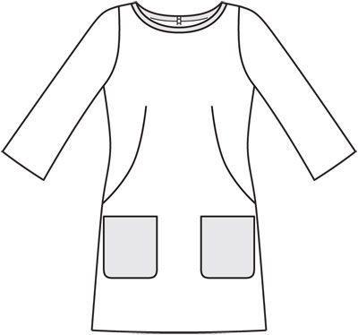 Numer Wzór 107 Magazyn 9/2012 Burda - - Sukienka wzory na sukienki Burdastyle.ru