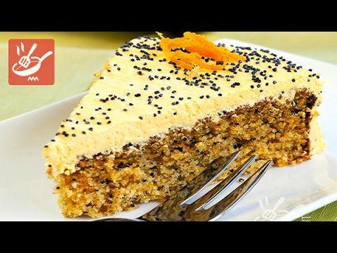 Torta di amaretti e arancia - Torte e crostate