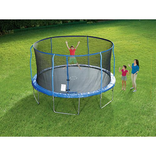 Sportspower Trampoline With Steel Flex Enclosure
