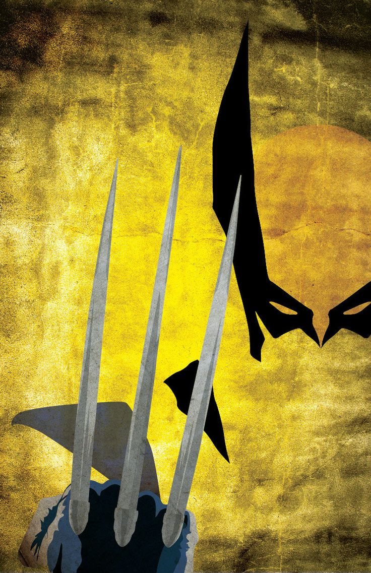 Wolverine XMen Comic Inspired Character Poster by TheGeekerie