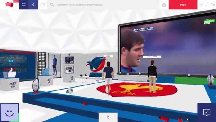 Soutiens le XV de France sur Beloola durant la Coupe du Monde de Rugby ! Retrouve des contenus exclusifs dans un univers 3D et interagis avec tes amis en temps réel ! http://www.beloola.com/xvdefrance #rwc2015 #FRA #FFR #soutienslexv #webGL #webVR #VR #socialVR #rugby #allezlesbleus